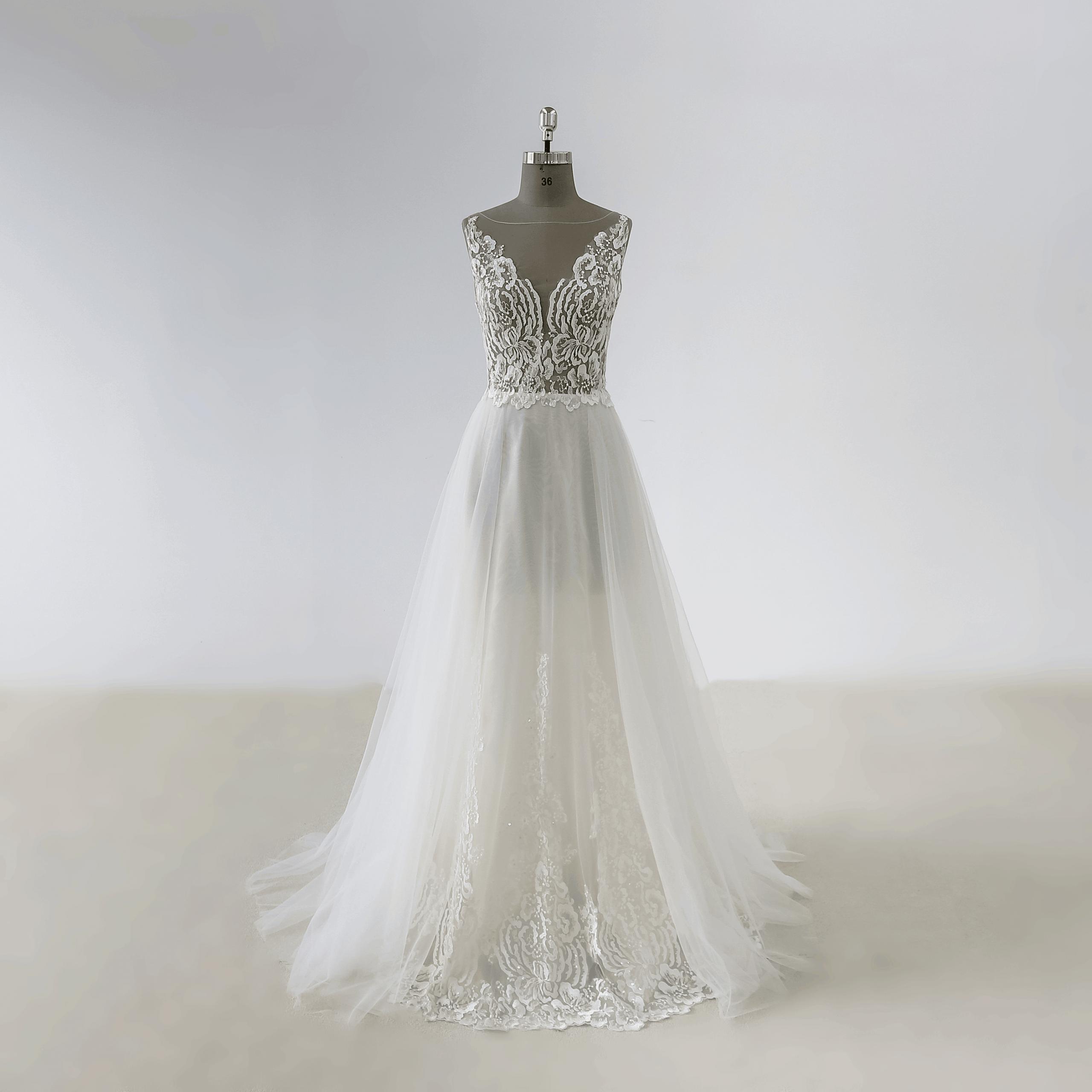 Brautkleid Hochzeitskleid Weiß nach Mass alle Größe Kleidung nach maß